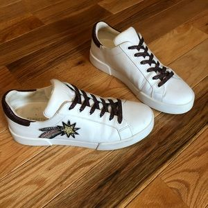 Embellished Leather Sneakers | Kenneth Cole